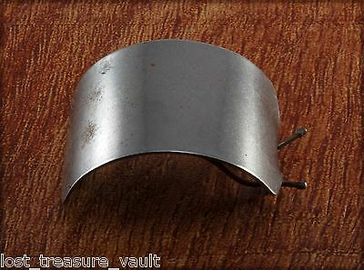 Vintage Hair Barrette Silver Tone Metal Wire Clasp PLain Hair Accessory