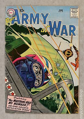 Our Army at War #59 1957 VG/FN 5.0