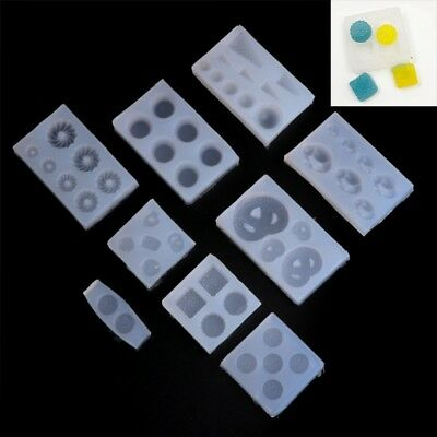 Mini Shapes Pendant Silicone Mold DIY Jewelry Making Epoxy Resin Craft Moulds