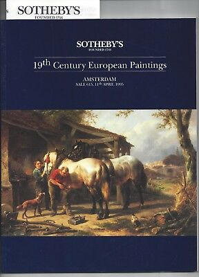 Sotheby's Amsterdam, 19th Century European Paintings, 11 April 1995