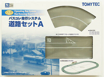 Tomytec Moving Bus System Bus Running Road Only Set A 1/150 N scale