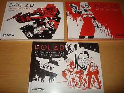 Polar Nr.1-3 komplett Popcom deutsch