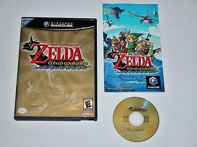 Legend of Zelda The Wind Waker Complete for Nintendo GameCube **TESTED & WORKS**