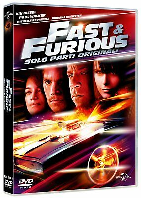 Fast & Furious - Solo Parti Originali DVD - totalmente in italiano