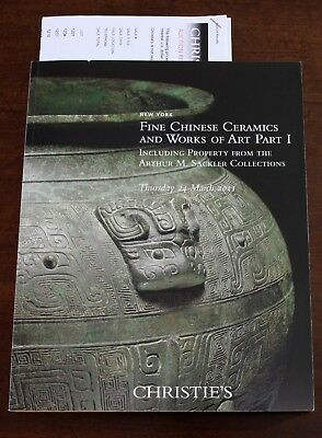 Fine Chinese Ceramics, + property from Arthur M. Sackler Coll,, Christie's NY