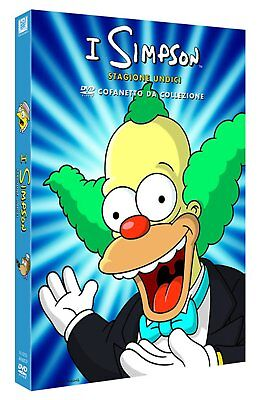 I Simpsons - Stagione 11 DVD - totalmente in italiano