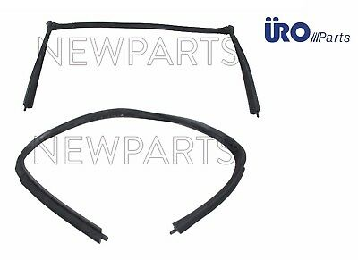 Porsche 69-85 911 Front Roof Seal Roof to Windshield Frame URO 91156509047 NEW