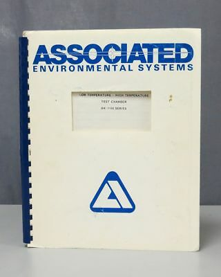 Associated Environmental Systems BK-1100 Series Test Chamber Inst Manual 0514