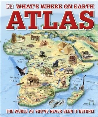 Whats Where On Earth Atlas, DK, 9780241228371