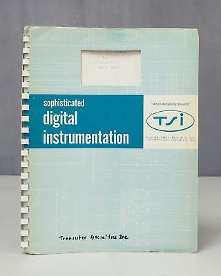 Transistor Specialties TSI Frequency C Model 500A Instruction Manual 1431