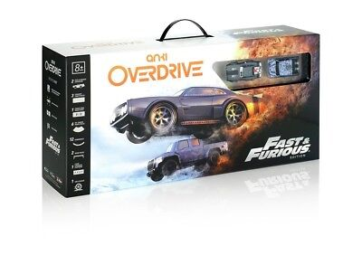 Anki OVERDRIVE Fast and Furious Edition Robotic AI Supercars New Sealed