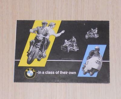 BMW Motorcycle Sales Brochure Oct 1958 #M233e - R26 R50 R60 R69
