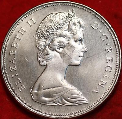 Uncirculated 1968 Canada $1 Clad Dollar Foreign Coin Free S/H