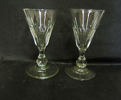 2 Grand Verre A Absynthe Verre Taille