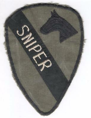 R258 2nd Cavalry Division Sniper Patch Win 10 Get Free US Shipping