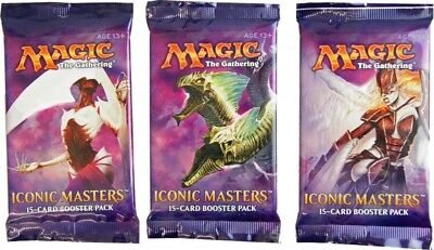 3x Iconic Masters Booster Pack englisch - MtG Magic the Gathering TCG