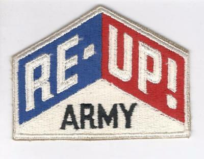 R358 RE-UP! Army Patch Win 10 Get Free US Shipping