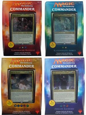 Commander 2017 Multiplayer Deck - wählt aus - deutsch Magic the Gathering MtG ED