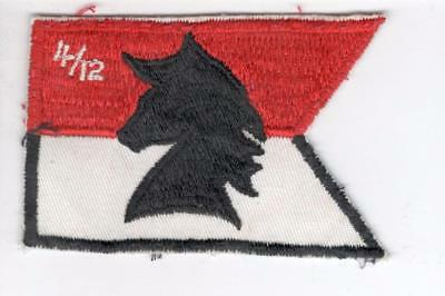 R380 12th Cavalry 4th Squadron Patch Win 10 Get Free US Shipping