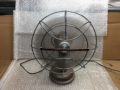'50'S VINTAGE WESTINGHOUSE 4 BLADE OSCILLATING TABLE  FAN  WORKS great