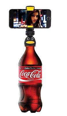 H1: Bottle Cap Tripod w/ Bluetooth Camera Remote for iPhone 5 5S 5C 6 6S 7 Plus