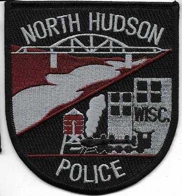 SWAT WISCONSIN North Hudson TACTICAL UNIT Police Patch SEK Polizei Abzeichen USA