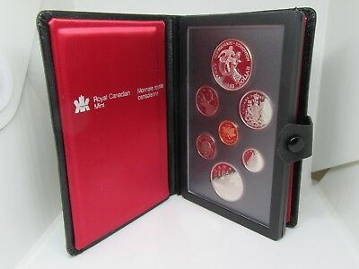 1983 Royal Canadian 7 Coins Proof Mint Set