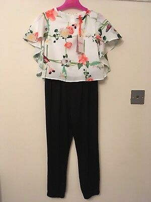 BNWT Girls NEW TED BAKER Jumpsuit Age 9 Years £32+ & FREE P&P - Xmas Party/Gift