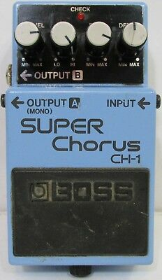 Boss Super CHorus CH-1 Guitar Pedal
