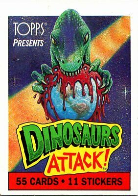 1988 Topps Dinosaurs Attack - Pick / Choose Your Cards