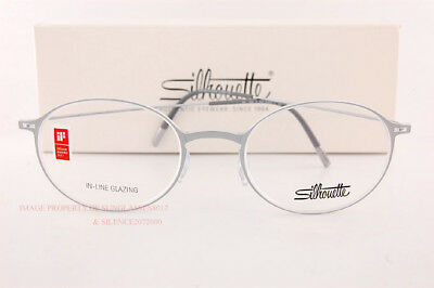 265ef84062e New Silhouette Eyeglass Frames Urban NEO 2908 6610 Crystal Silve Grey Men  Women
