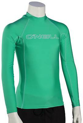 O'Neill Kid's Basic Skins LS Rash Guard - Seaglass - New