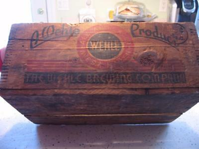 1930's-1940's WEHLE BREWING COMPANY CRATE, WEST HAVEN, CONN