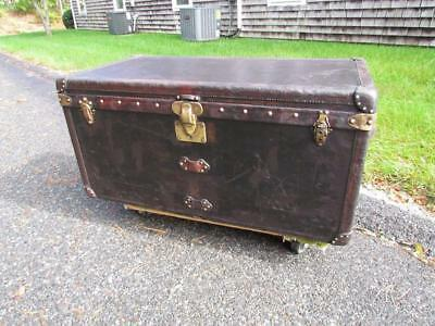 Antique Louis Vuitton Steamer Travel Trunk