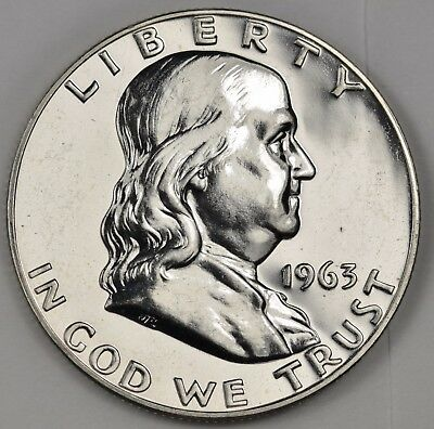 1963 Franklin Half Dollar.  Proof.  116332