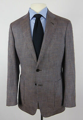 Giorgio Armani Unstructured 2-Btn Sport Coat Size 38R Wool Blend Italy Recent