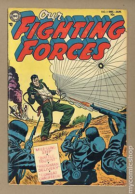 Our Fighting Forces #2 1954 VG 4.0