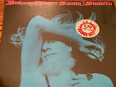 Johnny Winter Saints & Sinners Original First Press Lp Still Factory Sealed 1974