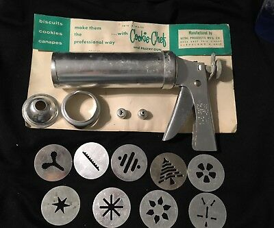 Vintage Trig-A-Matic Cookie Chef And Pastry Gun