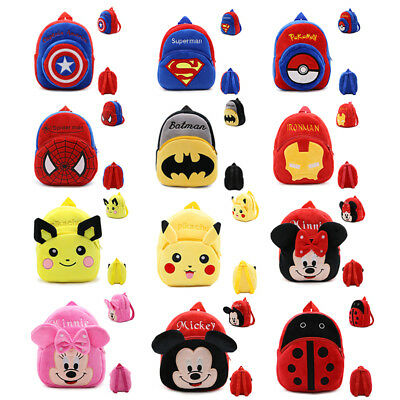 Lot of Toddler Kid Baby Animal Cartoon Backpack Schoolbag Preschool Shoulder Bag