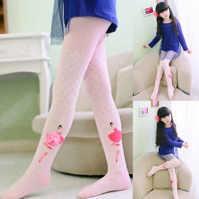 7a81f064846 Kids Toddler Girls Cotton Tights Socks Stockings Thermal Hosiery Dance  Pantyhose