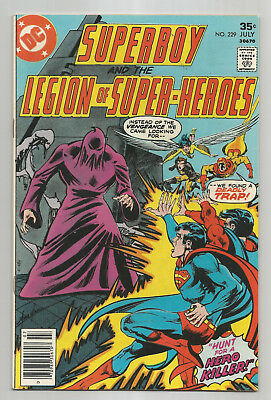 Superboy And The Legion Of Super-Heroes # 229 * 1976