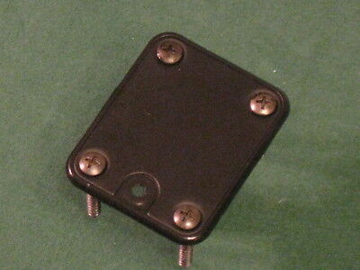 Peavey Foundation 5 String Bass Guitar NECK PLATE & SCREWS - Made In USA