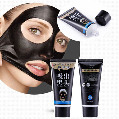 Charcoal Blackhead Remover Peel Off Facial Cleaning Black Face Mask 60g