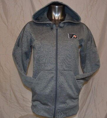 ADIDAS WOMENS NHL Philadelphia Flyers Hockey Climawarm Hoodie New S ... e242cc84a