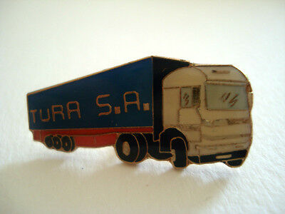 Pins Rare Tura Sa Camiones Camion Transport Routier