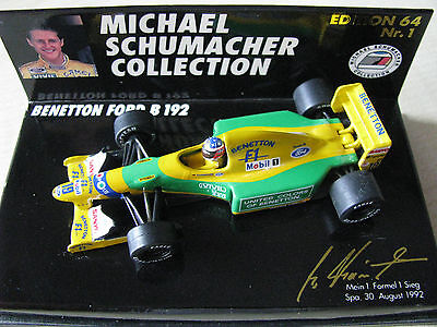 MICHAEL SCHUMACHER COLLECTION,  EDDITION 64 Nr.1  - unbespielt - ! ! 466
