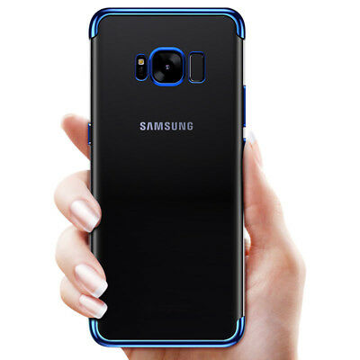 Ultra Thin Shockproof Soft Clear TPU Silicone Case Cover For Samsung Galaxy S8 +