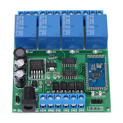 4 Channel Wifi Bluetooth Network Relay Module Wireless Remote Control Switch DH