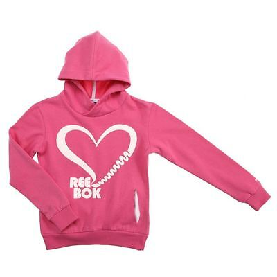 Reebok Hoodie Core Size Oth [Size 140] Hoody Pullover Sports Pink New &